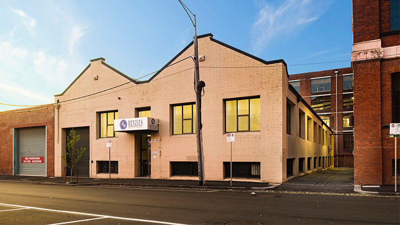 """A heritage-listed site at 102-108 Jeffcot Street, in Melbourne's west - the first in a portfolio of three adjoining properties offered to market by vendors, Resimax director Aziz """"Ozzie"""" Kheir, Probuild founder Phil Mehrten and developer Frank Palazzo - which sold last week for $9.5 million."""