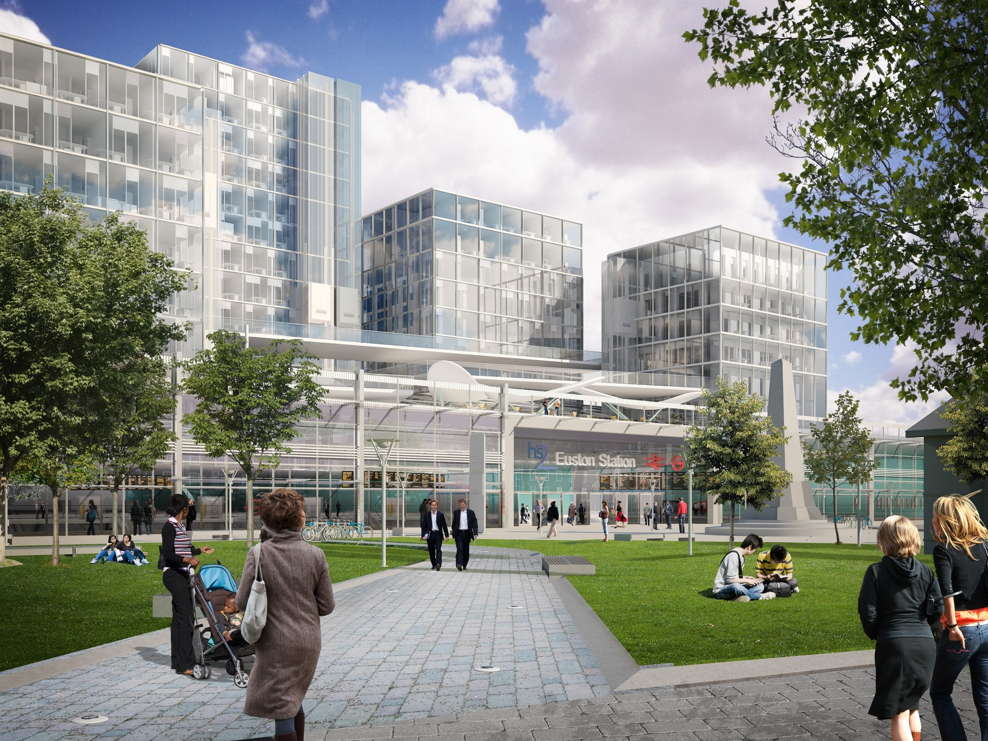 Arup with Grimshaw were originally appointed to work on the redevelopment of Euston train station in 2012