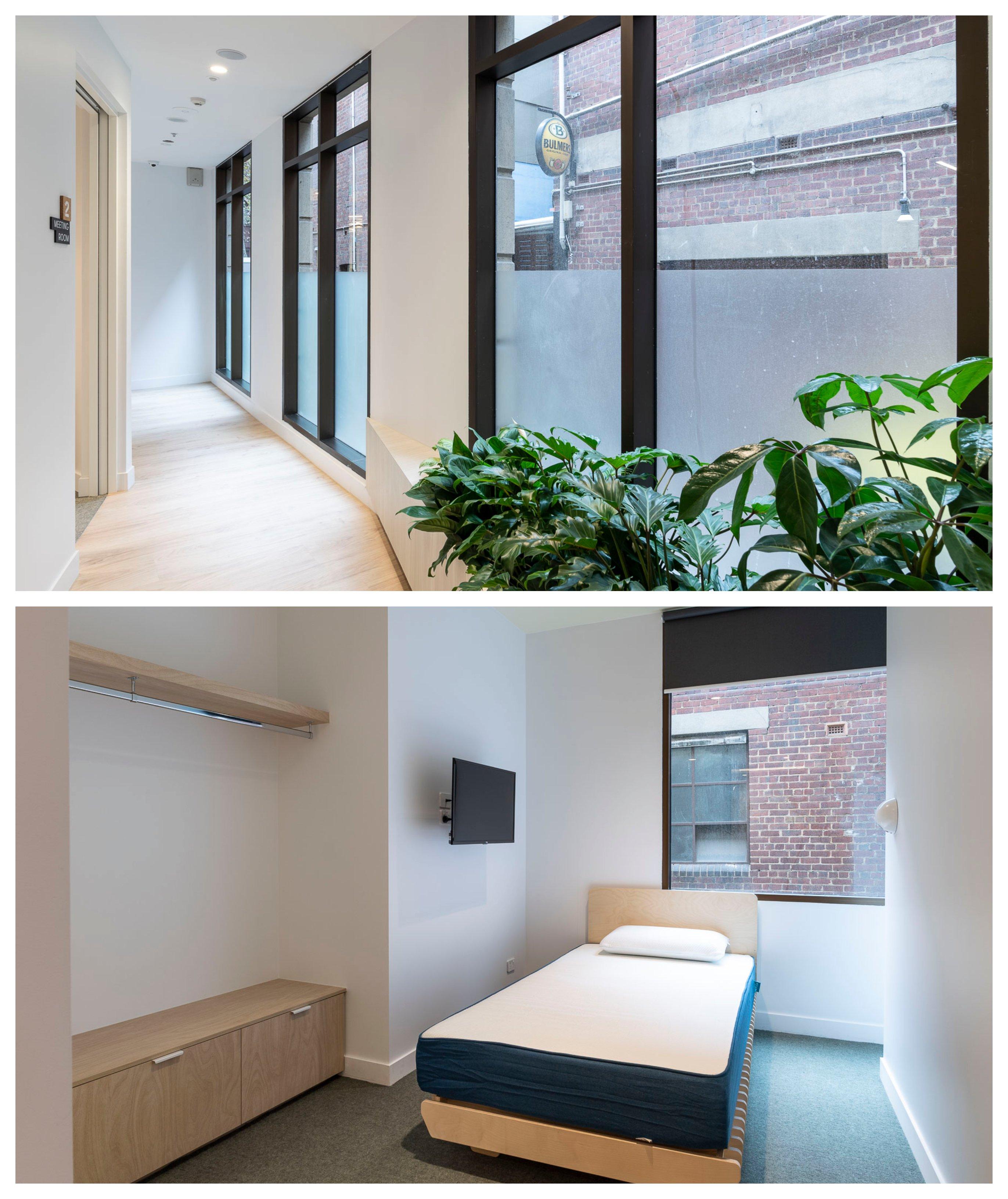 Internal living space at 19 King Street.