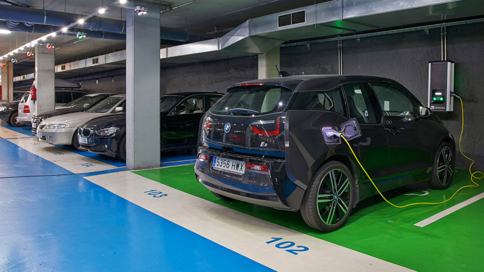 Carpark charging