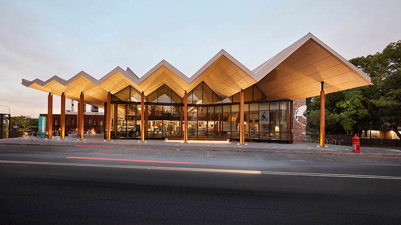 Marrickville Library BVN