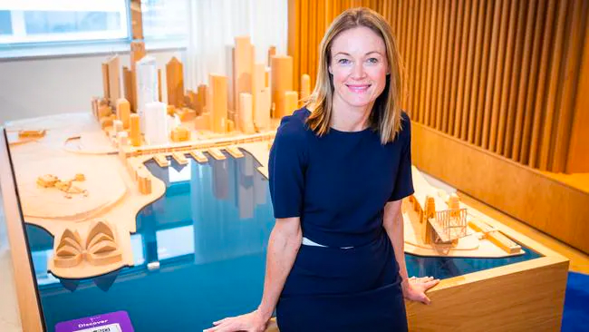 AMP Capital head of real estate Kylie O'Connor.