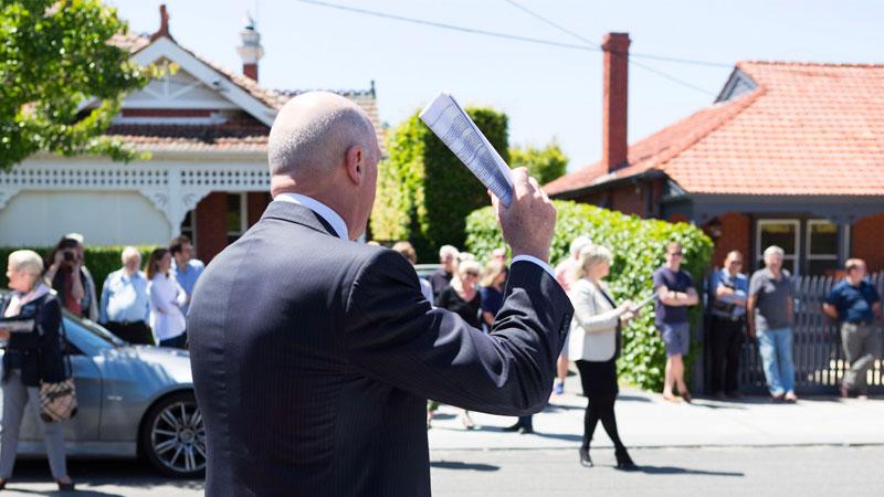 Auction clearance rates Australia