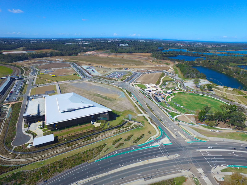 ▲ University of Sunshine Coast (USC) Moreton Bay campus is at The Mill at Moreton Bay in South East Queensland