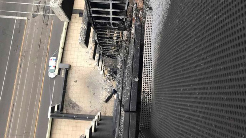 ▲ Combustible cladding currently affects 1,411 apartments in New South Wales, 1,069 in Victoria and 570 in Queensland. Image: Metropolitan Fire Brigade