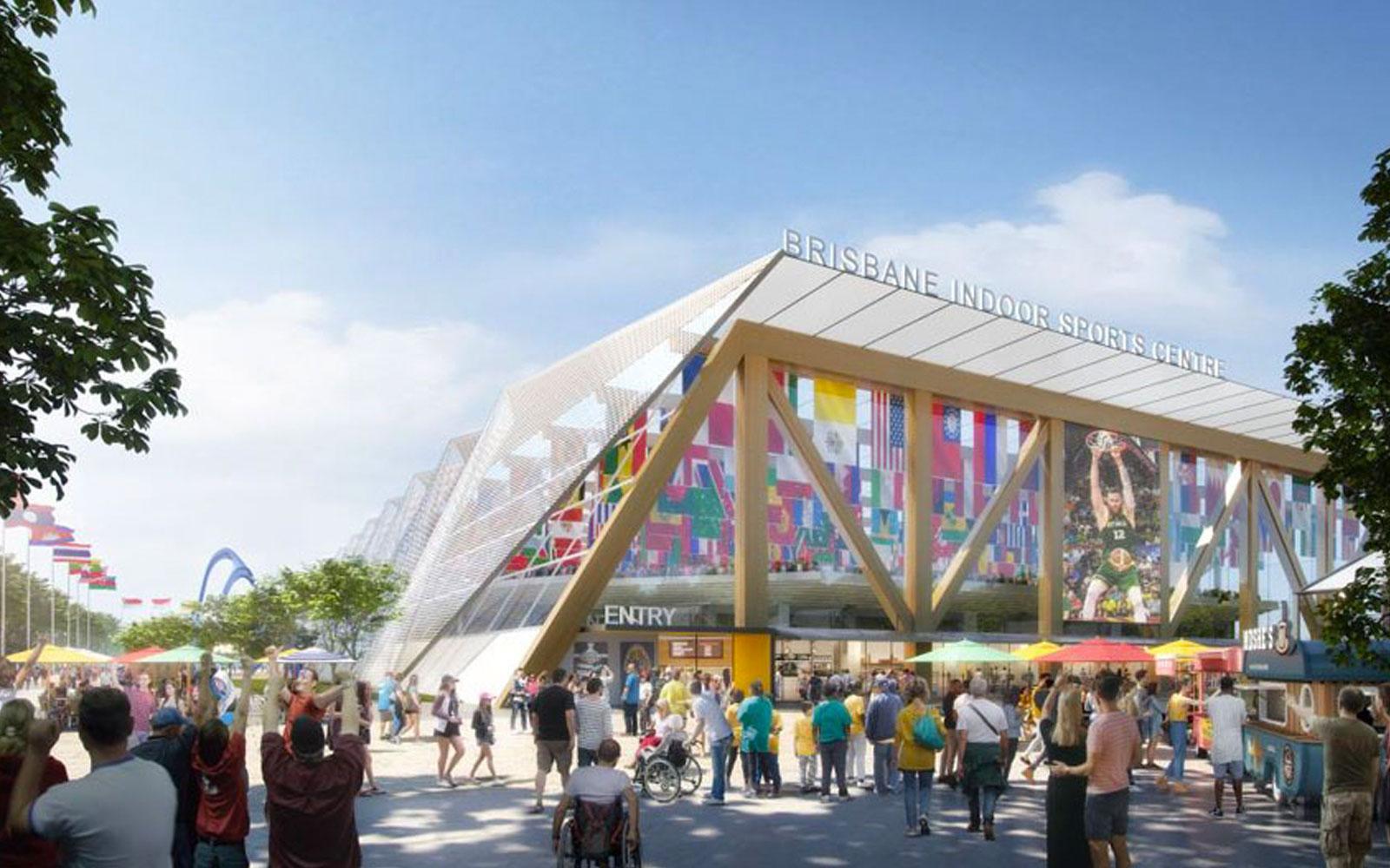 Brisbane Indoor Centre development Olympics