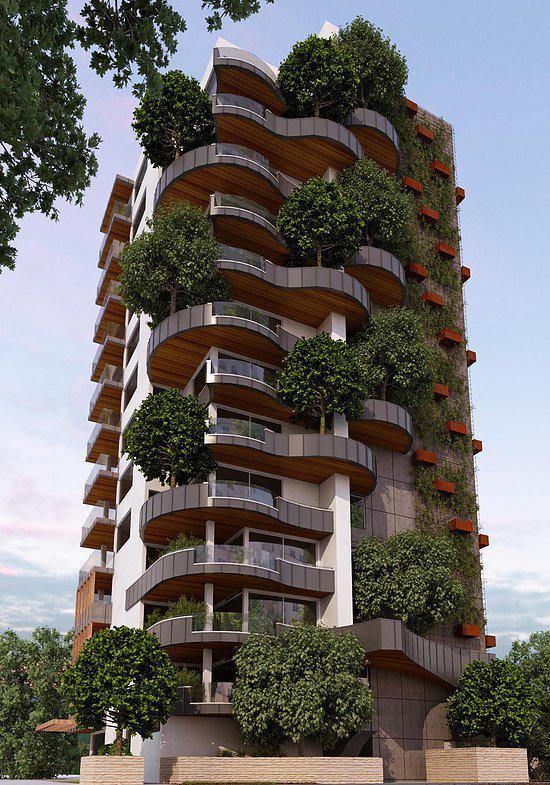 K1, Palatia apartments