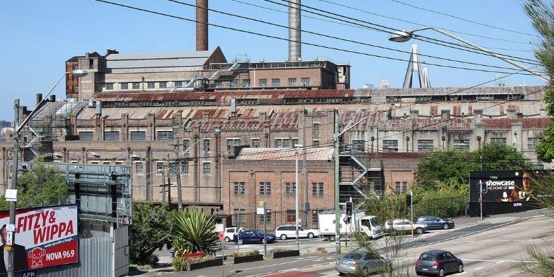 ▲ White Bay Power Station. Sydney redevelopment.
