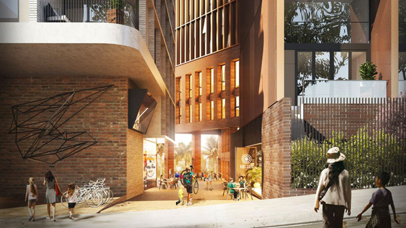 ▲ When completed, the new suburb four kilometres south of the Sydney CBD will have 30,500 new dwellings with Green Square housing 61,000 new residents by 2030.