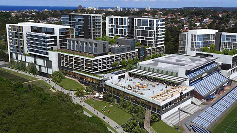 ▲ Plans for the Woolooware Bay Town Centre
