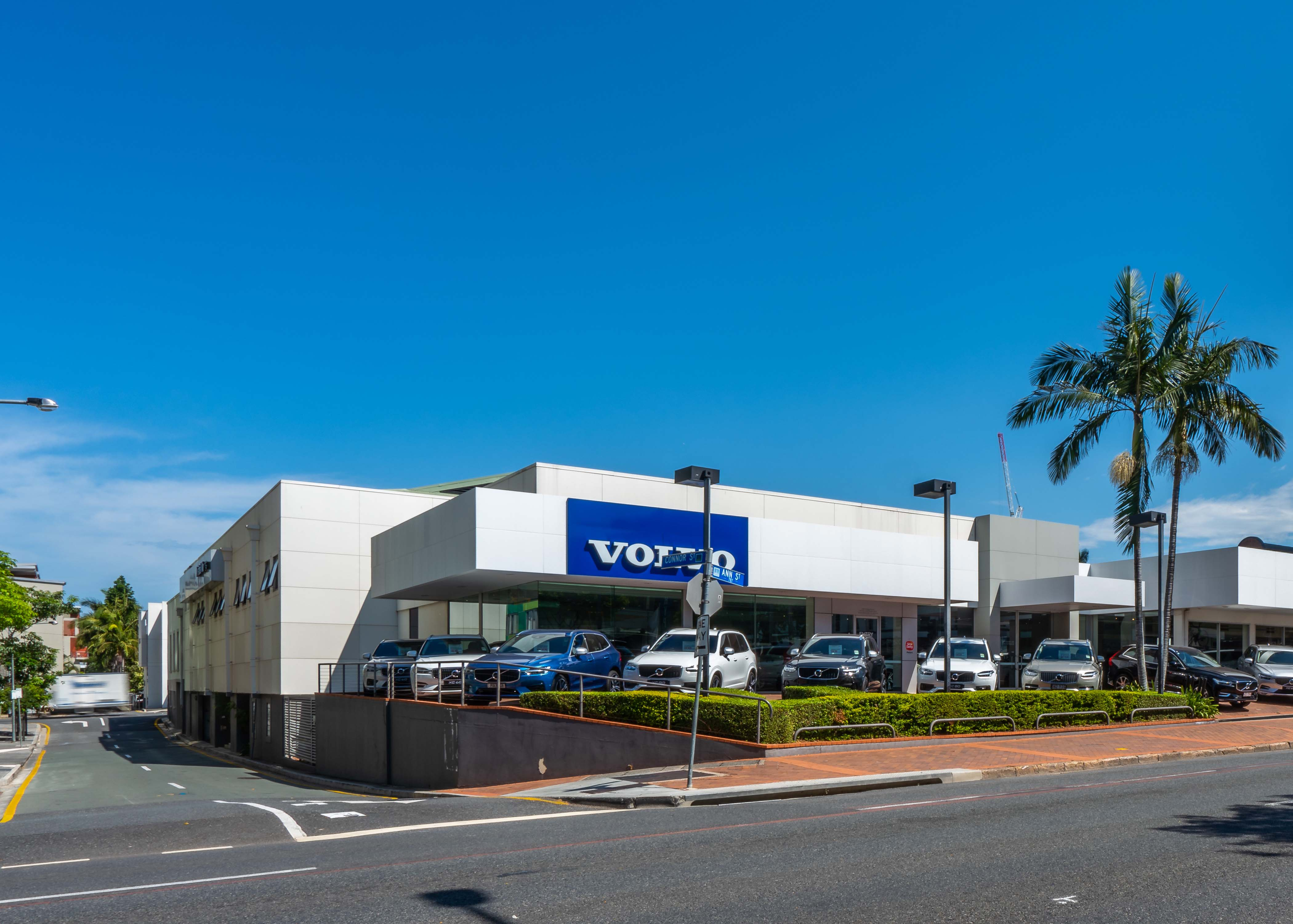 The prized 3,582sq m corner site is currently fully-leased to Volvo's office, showroom and car service centre.