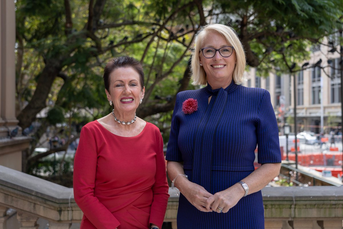 """Sydney Lord Mayor Clover Moore (left) and Melbourne Lord Mayor Sally Capp. Melbourne was recently proclaimed """"the live music capital of the world"""" by the Live Music Census."""