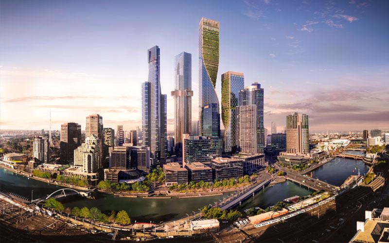 Southbank by Beulah development UNStudio Cox Architects