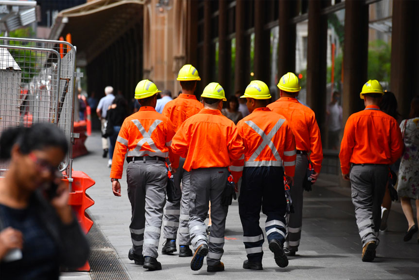 ▲ Up to 25 per cent of all insolvencies are companies in the construction industry.