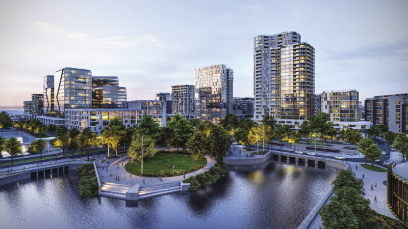 ▲ The Maroochydore CBD was identified as one of the 'game-changing' developments paving the way for future growth of the Sunshine Coast. Image: Directive Collective