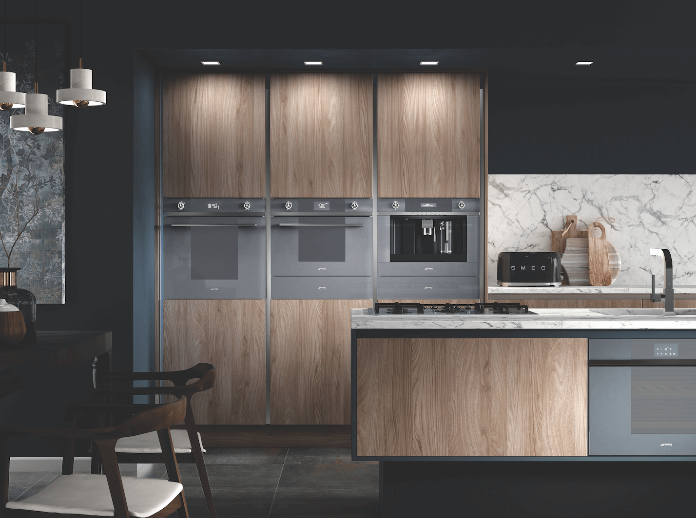 Today's open-plan designs reflect our desire for the kitchen to be more than just a place for cooking and eating.