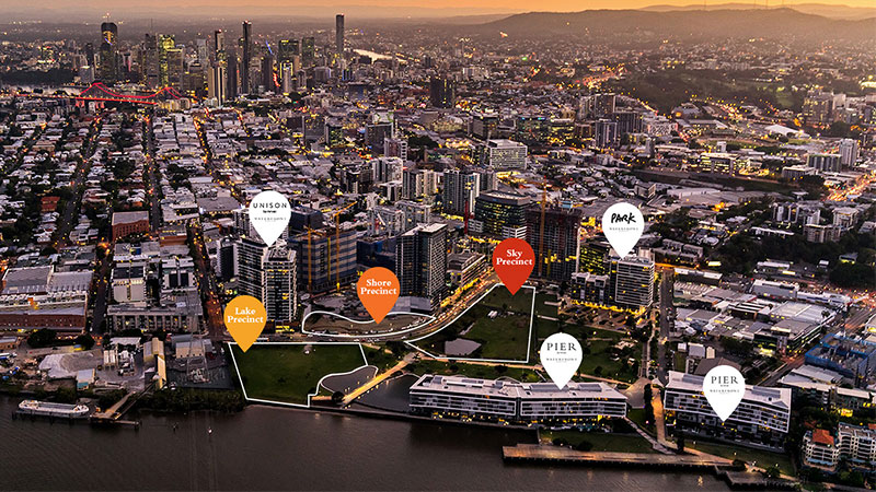 ▲ Mirvac's application significantly expand's the area's waterfront parkland, along with offering quality apartments, lifestyle amenities and retail. . Image: Mirvac