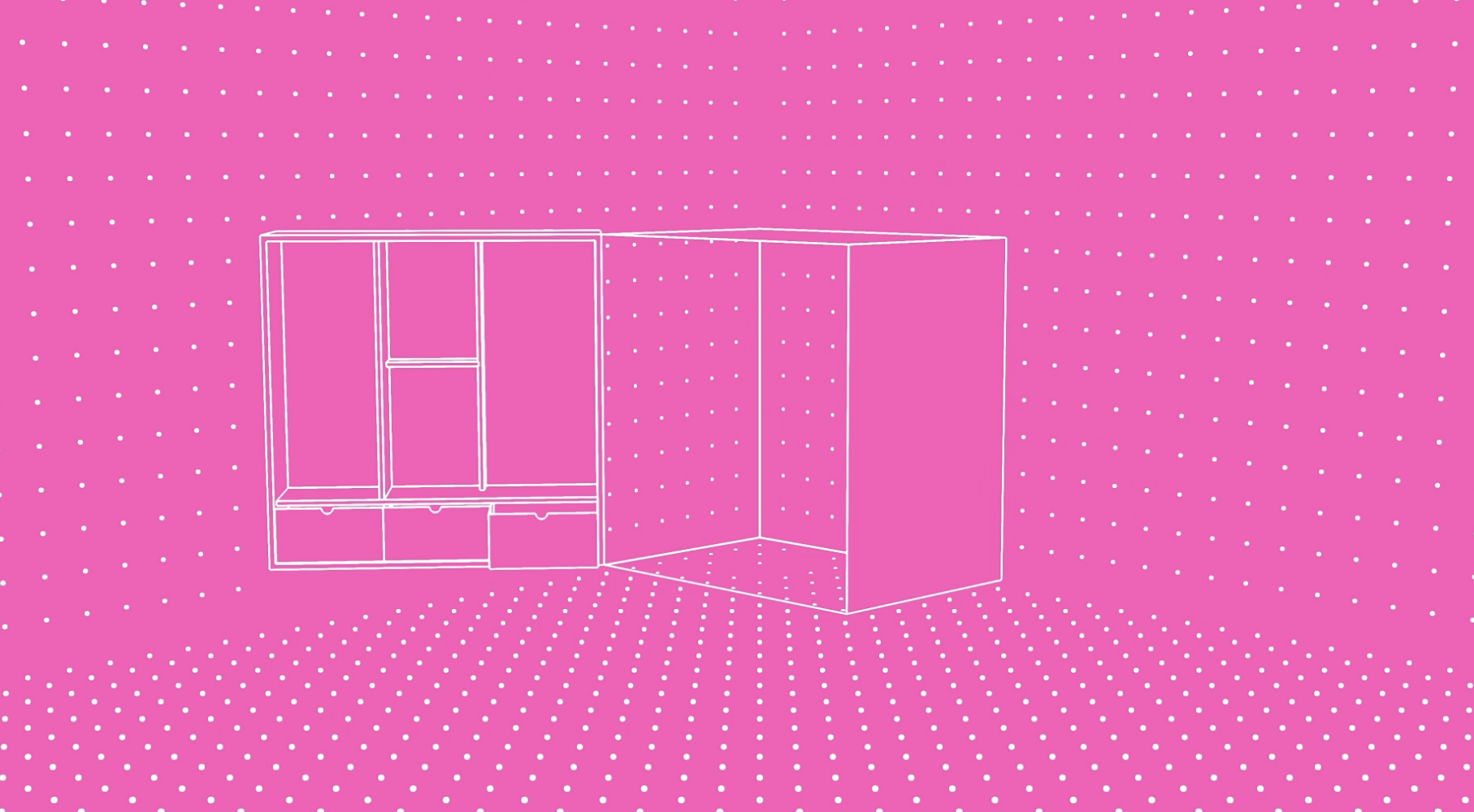 The Play Pod opens up to reveal three distinct configurations, devised to house a variety of interactive and all-ages activities as part of the festival.