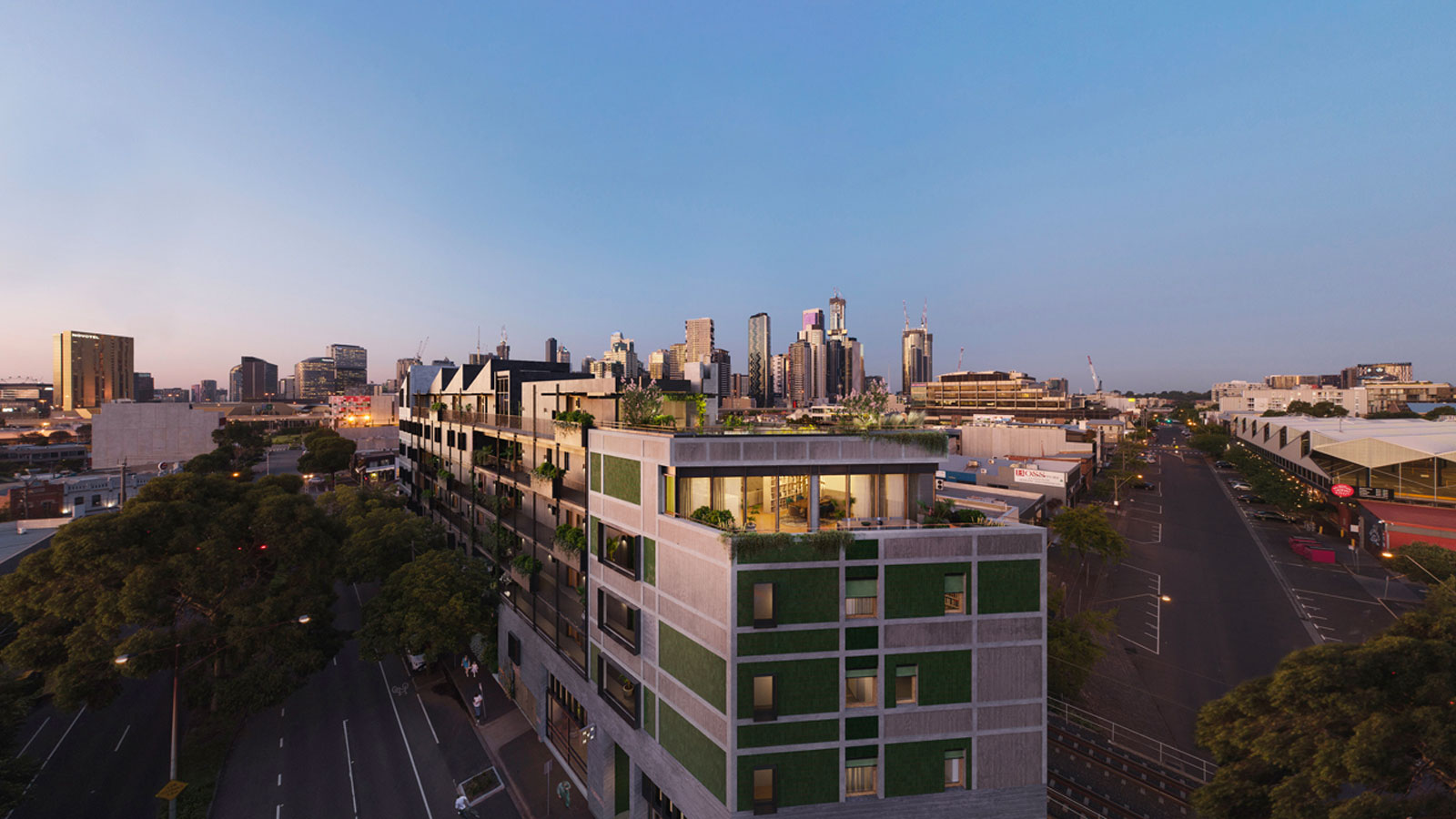 ▲ Hip V. Hype's Ferrars & York is a 22-apartment carbon neutral development in Melbourne that is currently under construction. Image: Hip V. Hype