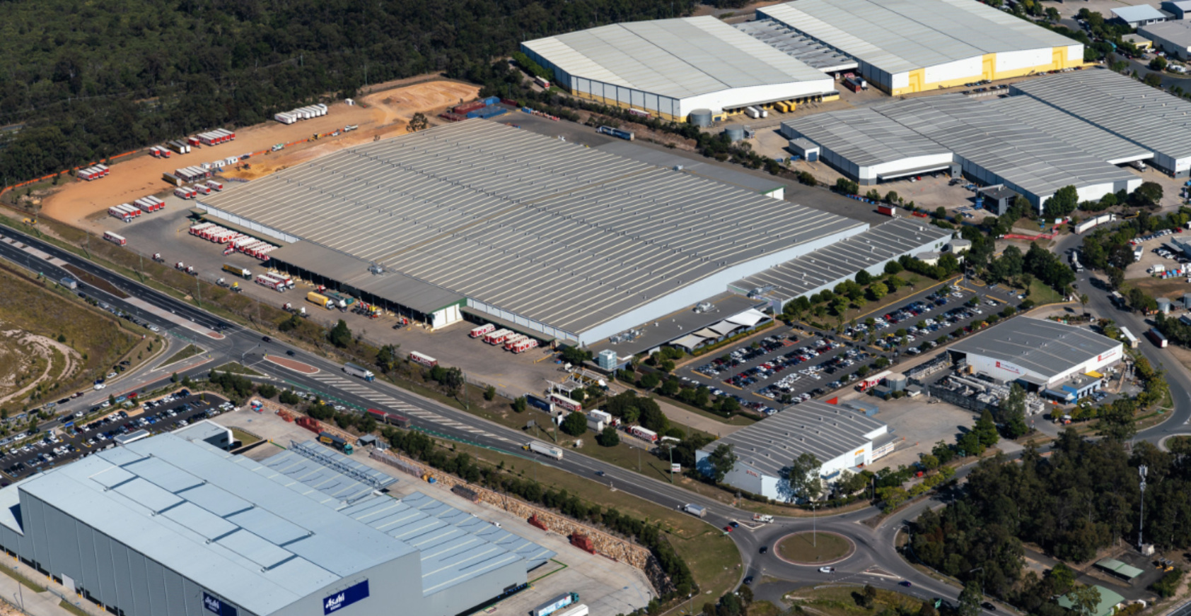 Singapore real estate investment giant Mapletree purchased Coles distribution centre in Brisbane's southwest for $105 million in October last year.