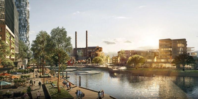 ▲ White Bay Power Station. Sydney redevelopment.NSW Gov Plans White Bay Power Station and Precinct Redevelopment.