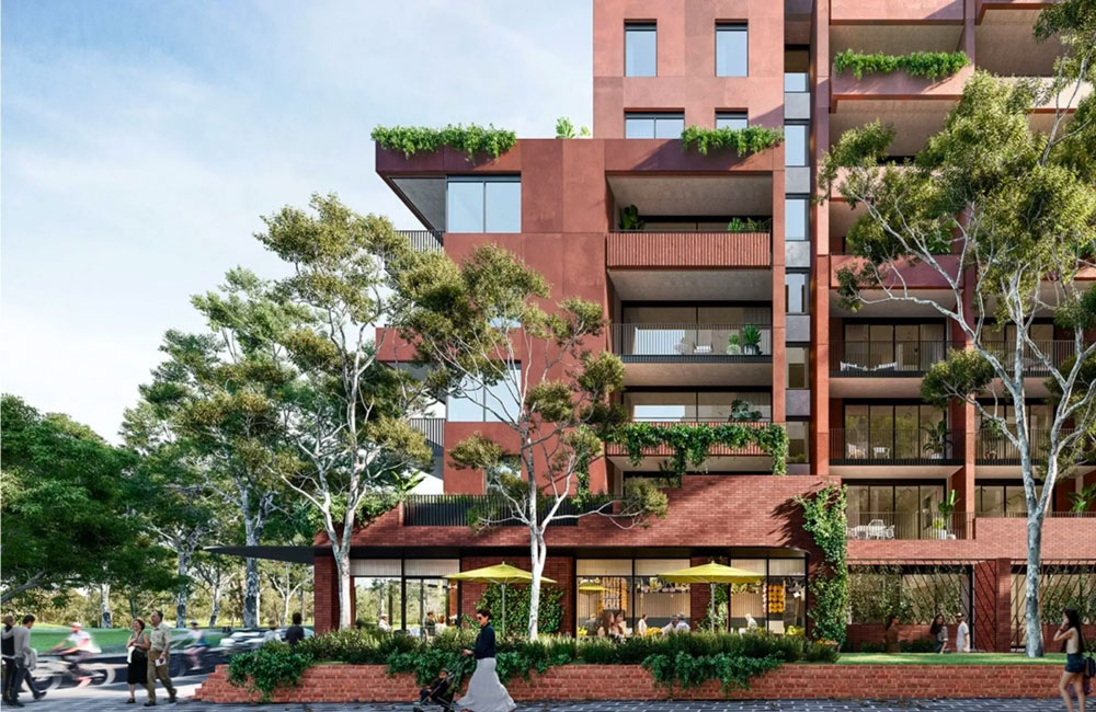 Mirvac, Milieu Lodge Plans for 527 Build-to-Rent Apartments