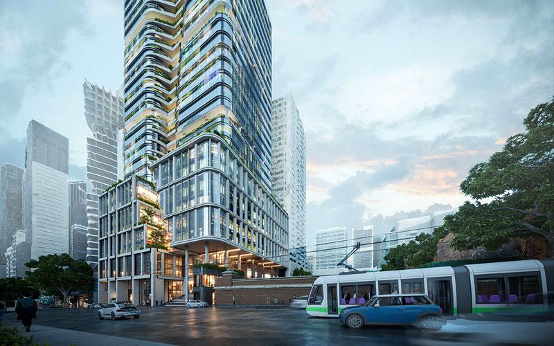 Mirvac lodges Planning Application for 383 La Trobe Street Melbourne