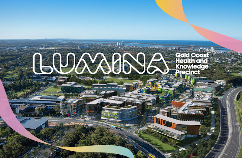 ▲ The vision and brand that Hoyne created for Lumina Gold Coast positions it as a flagship destination for innovators in health and tech-related businesses.