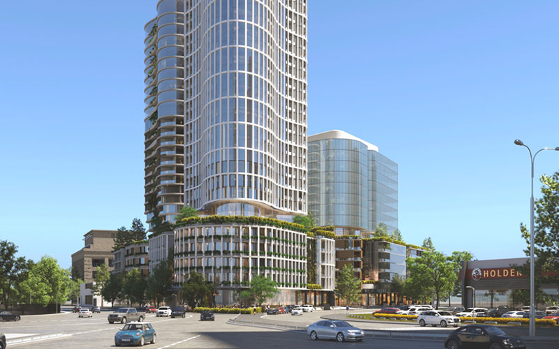 Gurner development 2-28 Montague Street, South Melbourne
