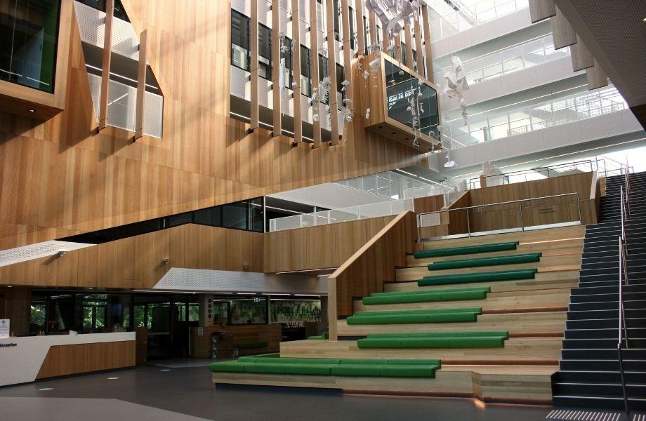 ▲ An artist's impression of Adelaide Botanic High School.