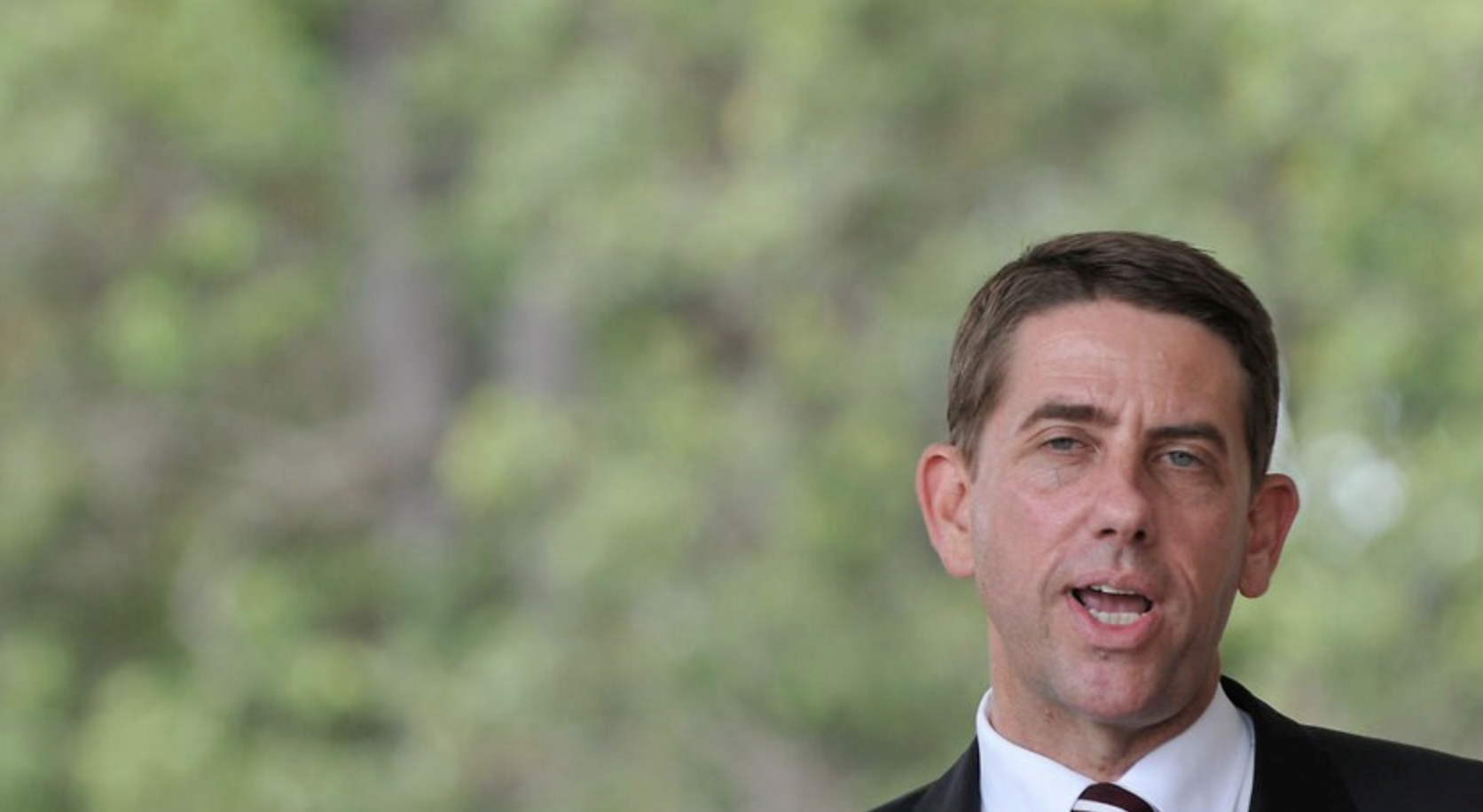 ▲Dick described the deal as one of the largest infrastructure agreements of its type in Australia.
