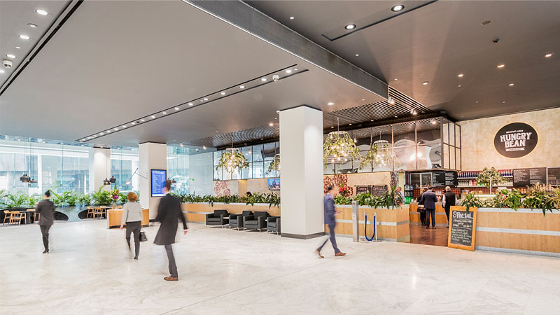 ▲ Over the financial year Dexus has completed or recycled more than $800 million of property divestments across its portfolio. Image: 45 Clarence Street, Sydney