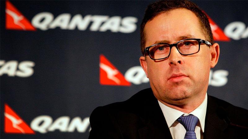 ▲ Qantas chief executive Alan Joyce.
