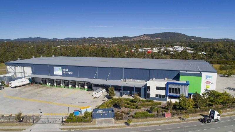 ▲ Centuria Industrial's cold storage facility at Ormeau, Queensland.