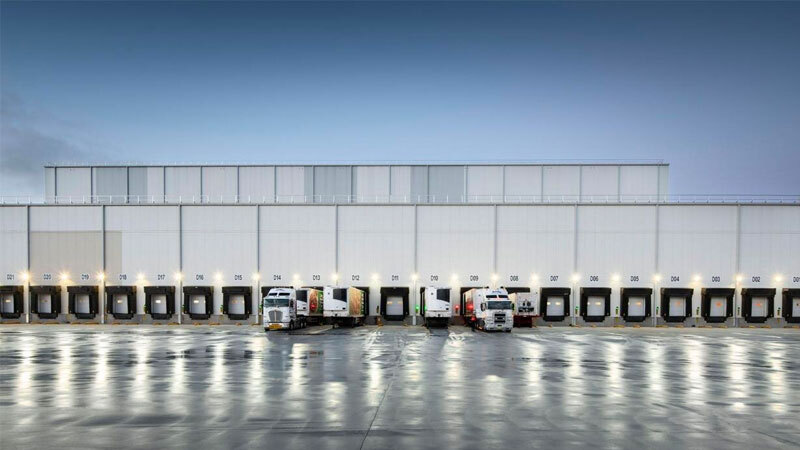 ▲ NewCold's facility at Truganina, Victoria. The Dutch-based company is currently building Australia's biggest cold store.