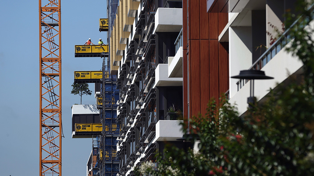 ▲ Build-to-rent apartment blocks are built specifically to be rented, and held in single ownership to generate long-term income.