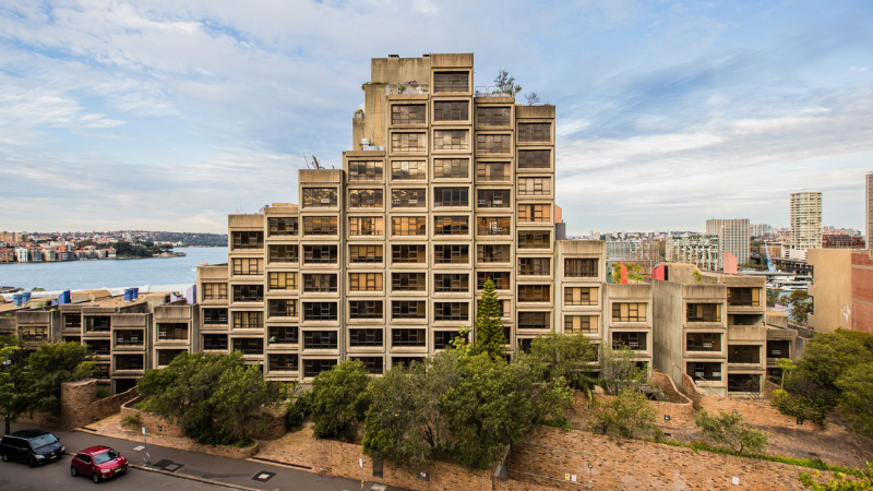 ▲ The former Housing Commission tower is being refurbished and is due to be complete at the end of 2022. Image: supplied