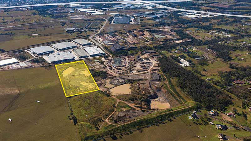 ▲ ESR snapped up the 20-hectare former quarry site in Sydney's west for $142.5m from CSR.