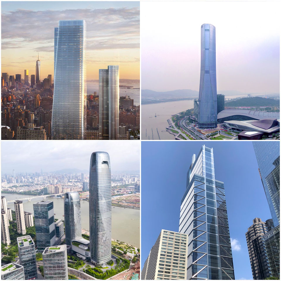 The Council on Tall Buildings and Urban Habitat (CTBUH) Best Tall Building 300-399 meters