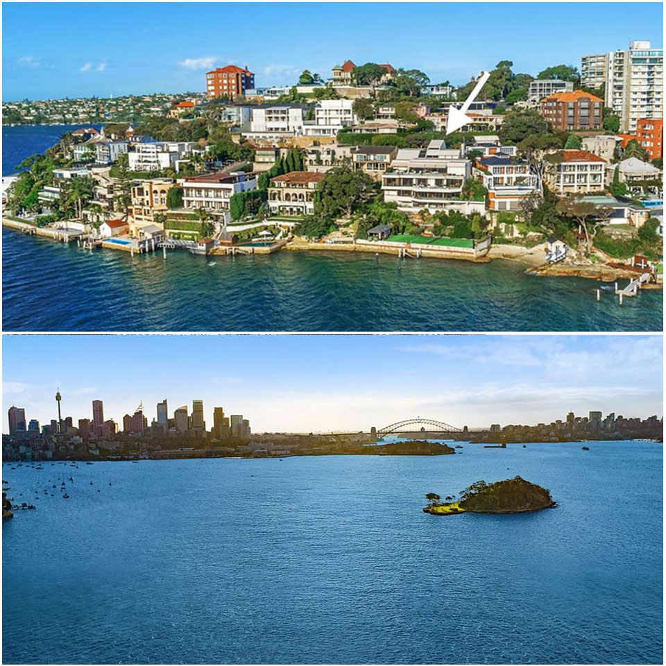 ▲ One of the most expensive residences on the Point Piper waterfront, Edgewater, is under transaction for $95 million.