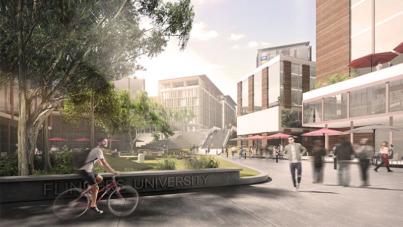▲ Early project estimates suggest the new precinct will increase annual education exports by $99 million and generate in excess of $150 million in additional annual overall export earnings for South Australia.