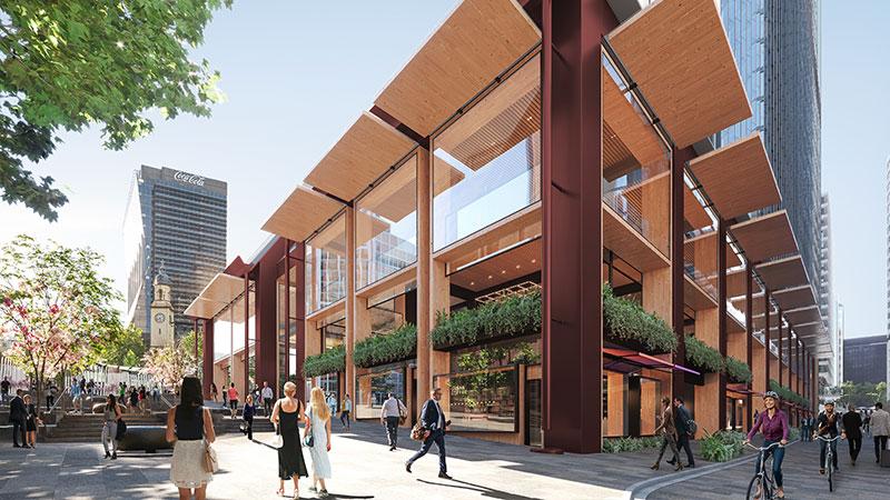 Investa, Oxford Unveil $500m Tower in North Sydney 105 Miller Street