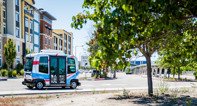 ▲ EasyMile EZ10 - Livermore Amador Valley Transit Authority, US