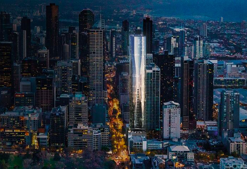 Aspire Tower ICD Property Melbourne development construction
