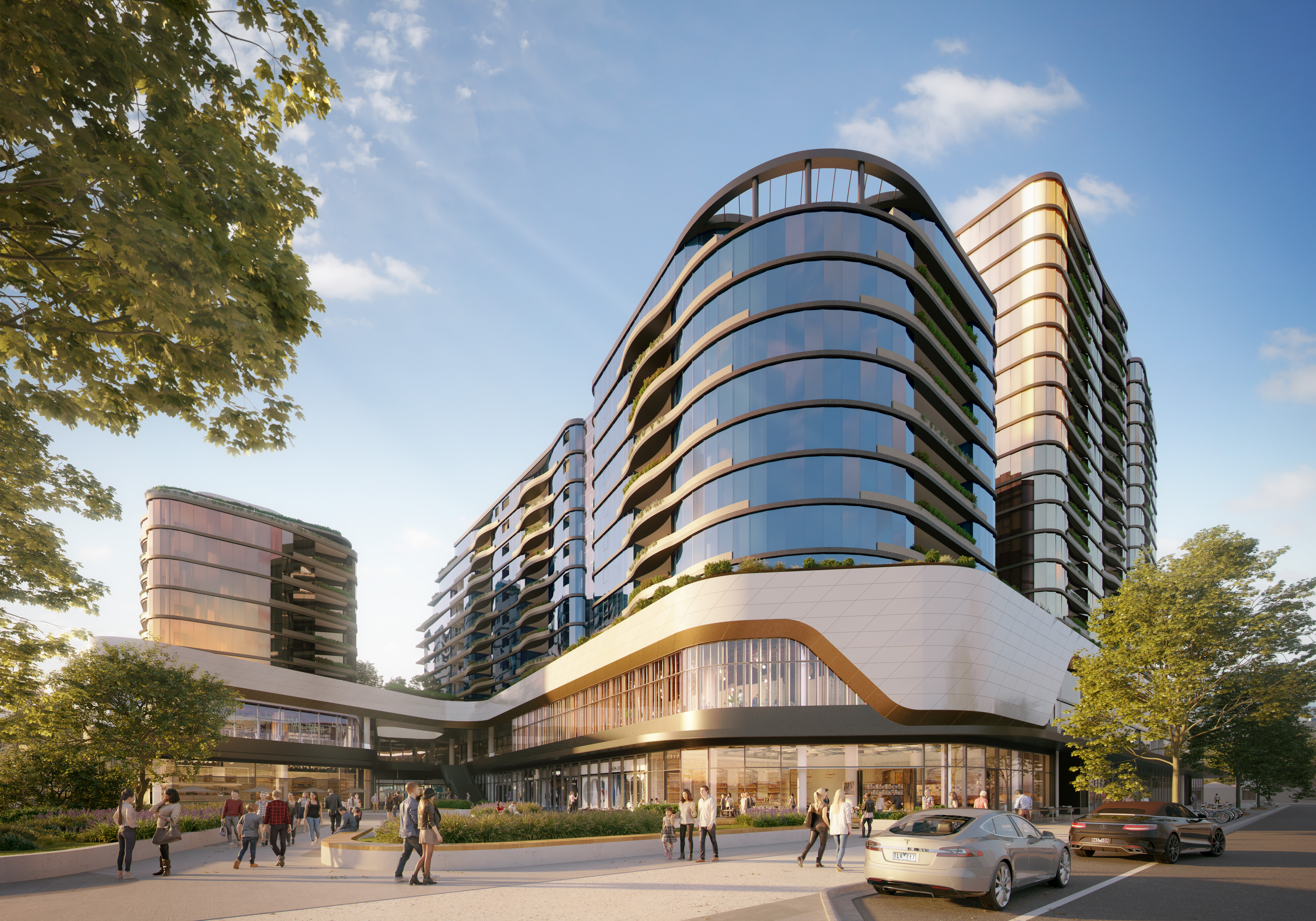 Golden Age will develop an apartment project above The Glen shopping mall in Melbourne.