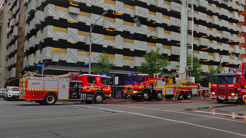 ▲ Neo200 on Melbourne's Spencer Street is one of the first buildings on the list for cladding rectification.