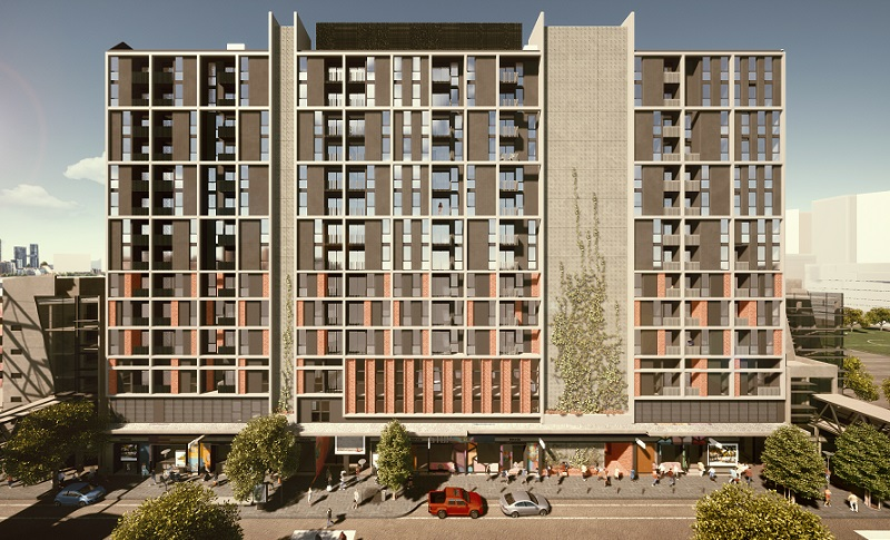 ▲ AsheMorgan signs the Nesuto Docklands Apartment Hotel as a milestone expansion to Melbourne's The District Docklands mixed use precinct.