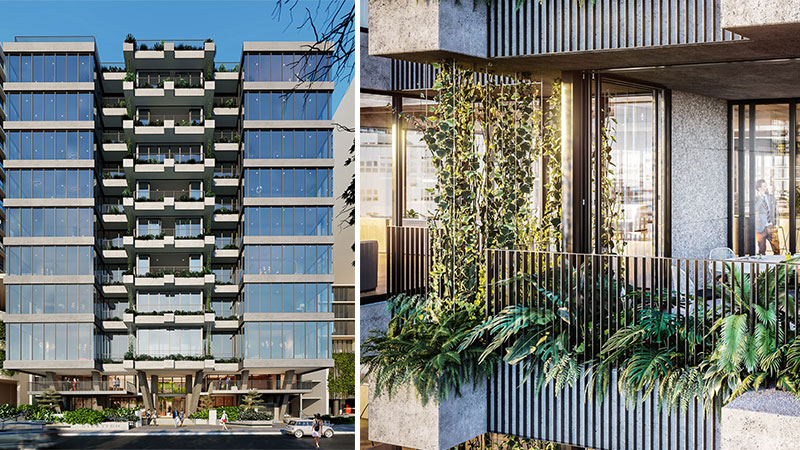 ▲ The 14 Stratton Street Newstead site has sold for $122.5 million, changing hands from Silverstone Properties to Mater to Charter Hall in one deal. Image: Rothelowman.