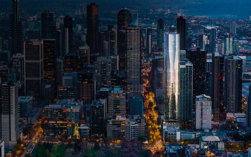 Aspire Tower Melbourne development