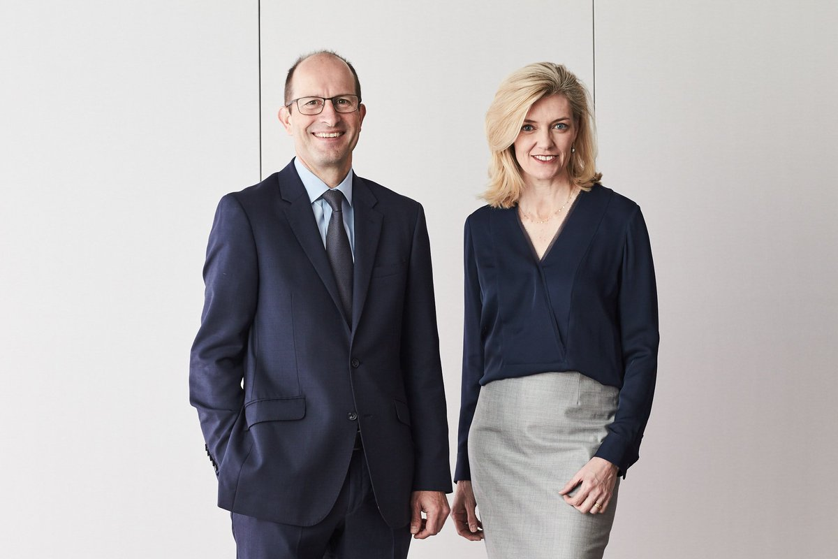 AMP CEO, Craig Meller and Chairman, Catherine Brenner